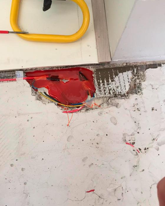 Elektronische vloerverwarming reparatie3